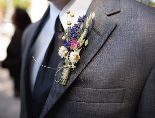 Boutonnière sposo: tutto quello che non sai